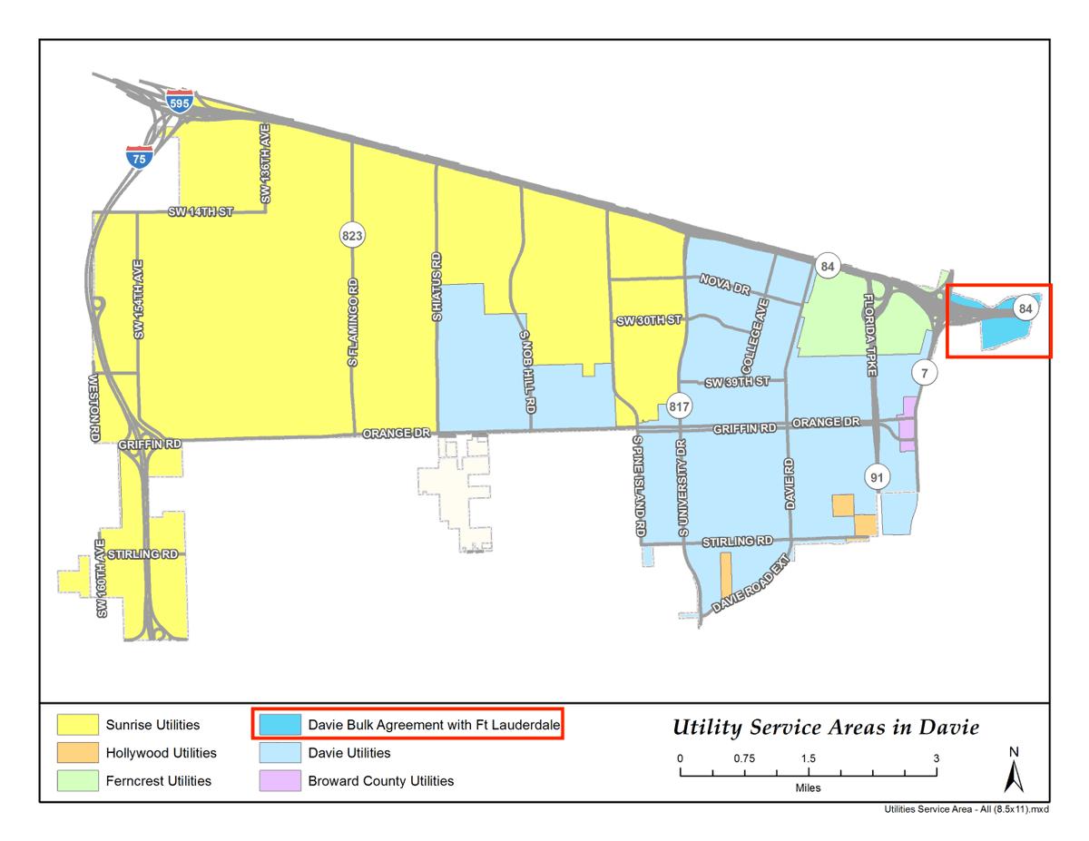 Town of Davie, FL (@TownofDavie) | Twitter Davie Florida Map on