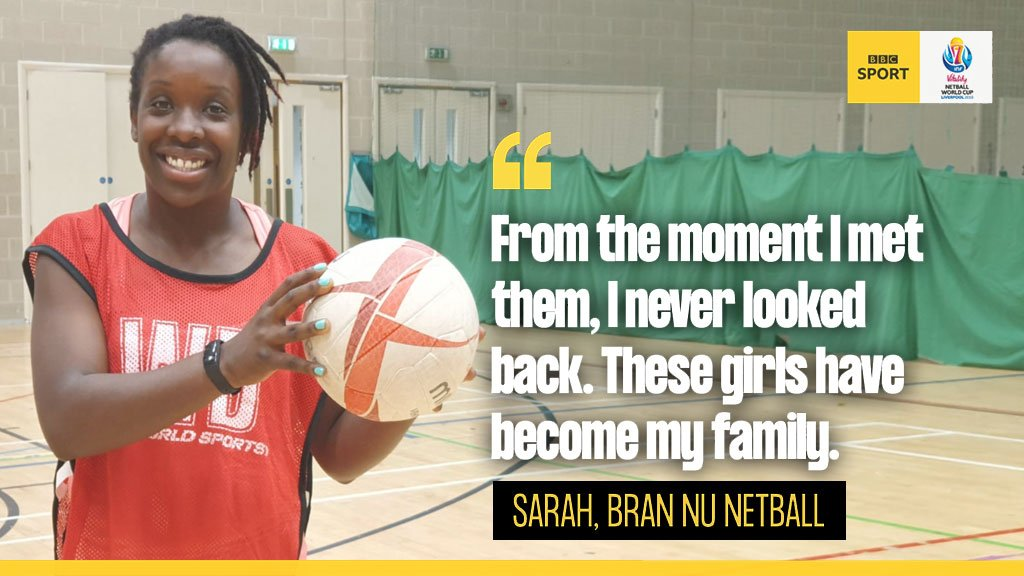 The Bran Nu ladies are here to tell you why you *need* to try netball this summer! 🏐☀️#GetInspired by 'Tales from the netball changing rooms' & join @EnglandNetball's 'Pledge your Court' campaign.READ HERE 👉http://bbc.in/2SqKoq7#NetballWorldCup #ChangeTheGame