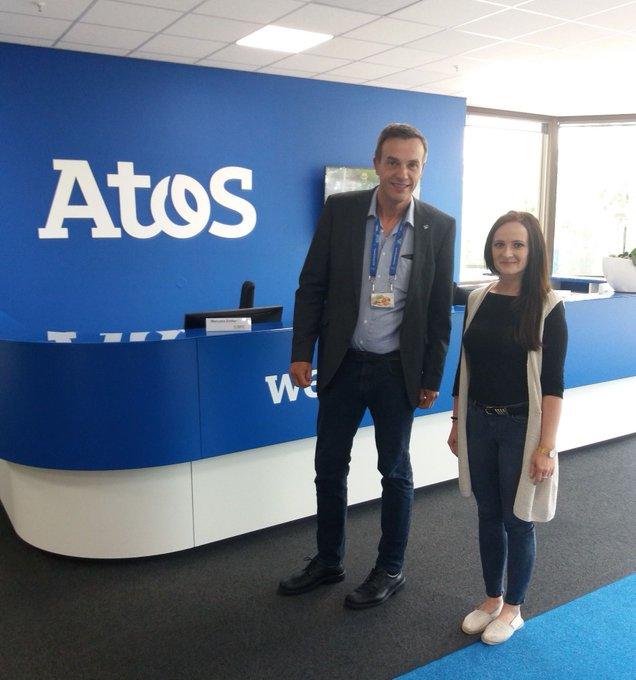 Spannende Stunden in der IT-Welt von Atos erlebten die Teilnehmer des Reinhard Mohn...