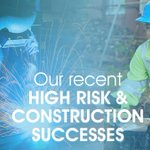 Read all about our High Risk and Construction Team's recent success stories https://t.co/VN6ijiFy7T