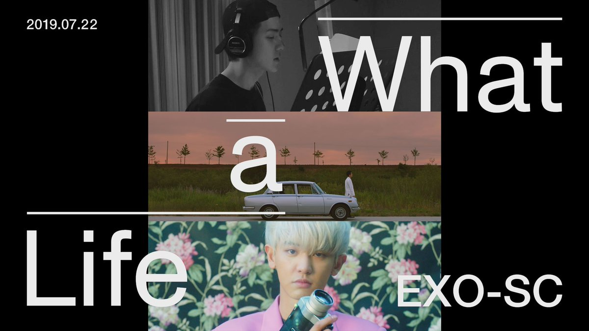 "EXO-SC 세훈&찬열 ""What a life"" Triple Title MV Trailer  🎧2019.07.22. 6PM (KST) 👉http://exo-sc.smtown.com    #세훈 #찬열 #SEHUN #CHANYEOL #SEHUN_CHANYEOL #EXO_SC #Whatalife #엑소 #EXO #weareoneEXO"