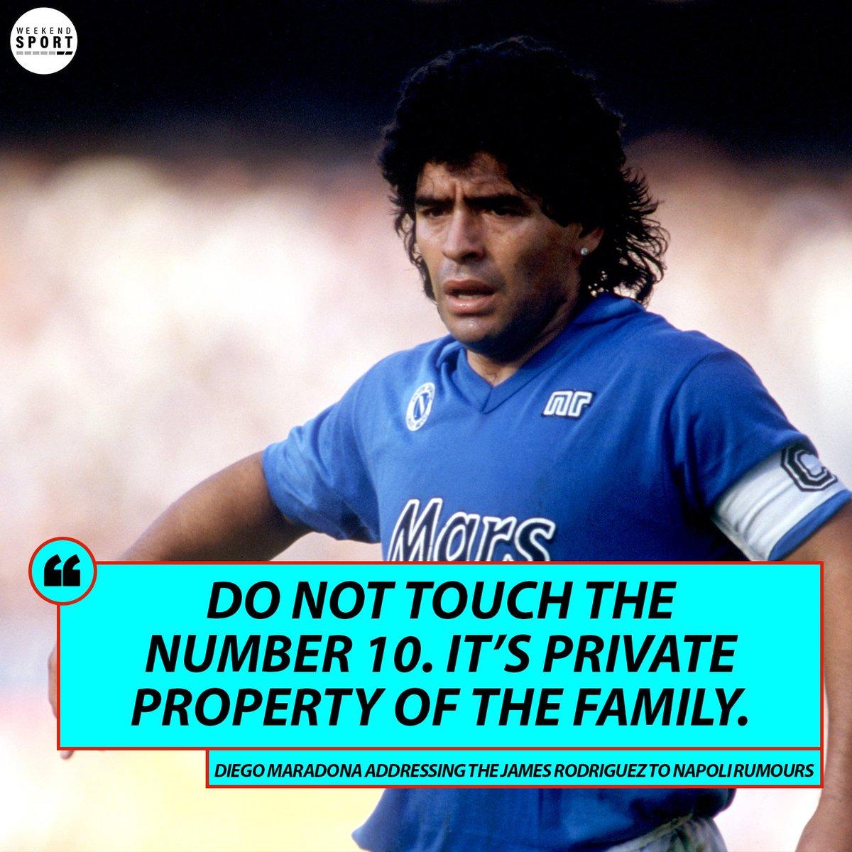 @WeekendSport's photo on Maradona