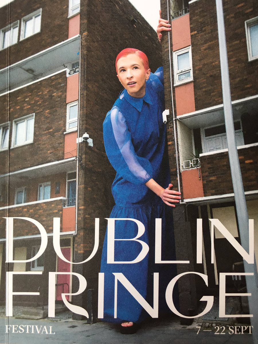 This has been very hard to keep a secret, but I can finally say that you can catch giant me on the cover of the @dublinfringe brochure, AND @fg_theatre will be presenting 'Ode to a Postcode', a lovesong to our dearest Tallaght, 20-22 September in @civictheatre  #IAdoreD24<br>http://pic.twitter.com/fHaqG9Qgxa