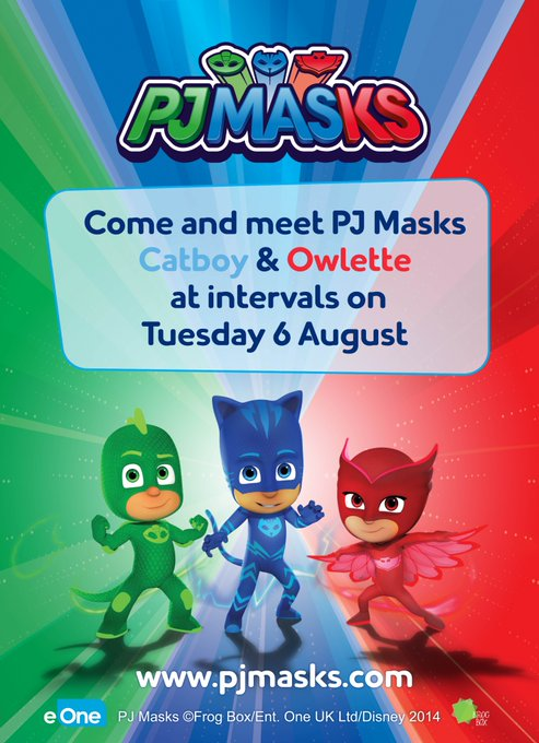 This Summer Holiday enjoy ALL our fun childrens rides AND on TUESDAY 6TH AUGUST come and meet PJ MASKS CATBOY & OWLETTE! Cameras at the ready! #pjmasks #schoolholidays @KMWhatsOn @kentlivewhatson https://t.co/iEfzfLqMjL @KSCourier https://t.co/o6hH...