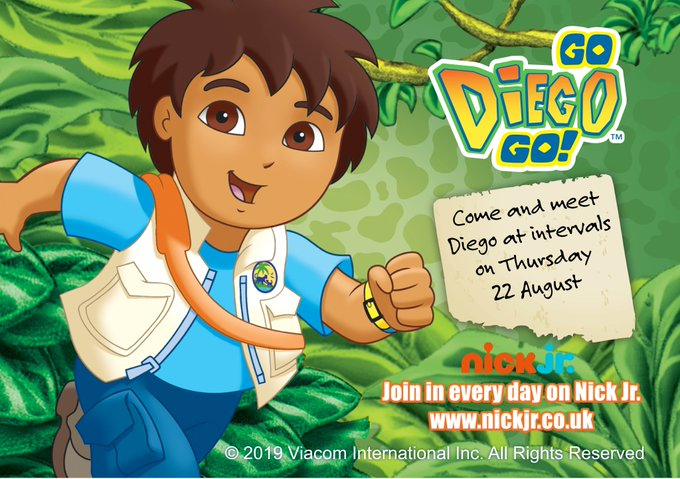 This Summer Holiday enjoy ALL our fun children's rides and on THURSDAY 22ND AUGUST come and meet DORA THE EXPLORER & DIEGO! Cameras at the ready! @DoraTheExplorer #doratheexplorer #godiegogo #schoolholidays @KMWhatsOn @kentlivewhatson @MumsnetKen...