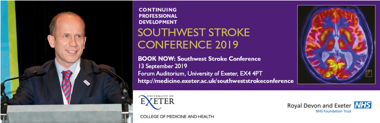 We are excited to be joined by Prof Tom Robinson @uniofleicester at #SWStroke2019 as he discusses intravenous #thrombolysis. We'd love to see you there! Register here  http://bit.ly/2HTTtEh    #strokeresearch #strokecare #stroketreatment #strokeprevention #stroke #neurology