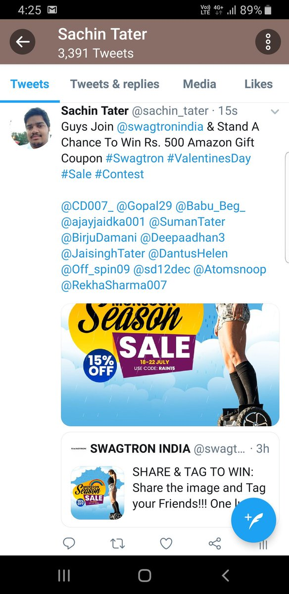 All Done, Biggest Wish Is To Win #Swagtron #ValentinesDay #Sale #Contest  Guys Join Here @BirjuDamani @ajayjaidka001 @Gopal29 @Appie_Appzz @sd12dec @SumanTater @DantusHelen @RekhaSharma007 @JaisinghTater @Deepaadhan3 @Atomsnoop @GowthamanRockz @Off_spin09<br>http://pic.twitter.com/xqRvsIXHYM