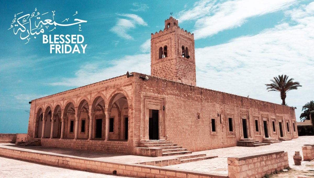 #BlessedFriday from the Great Mosque of Monastir, Tunisia. Built more than 10 centuries ago, the mosque features unique architectural touches of the various historical periods it has witnessed. <br>http://pic.twitter.com/BCh1cO2siK