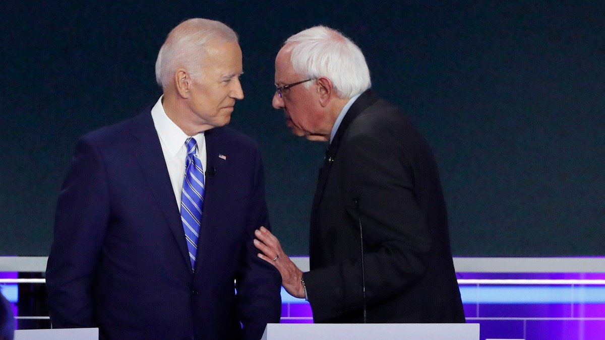 Sanders, Biden clash over remedy for healthcare https://reut.rs/2XYrwjs