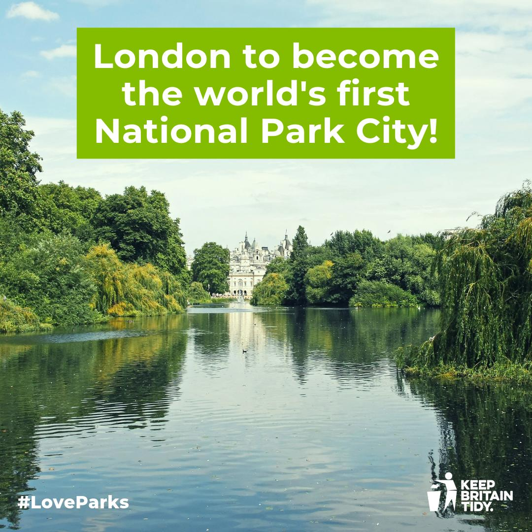 On Monday 22 July, #London will become the world's first #NationalParkCity.Organisations and individuals will sign a charter in support of making the city greener, healthier & wilder.On the same day #Newcastle will launch their campaign to be the next National Park City 💚🌳