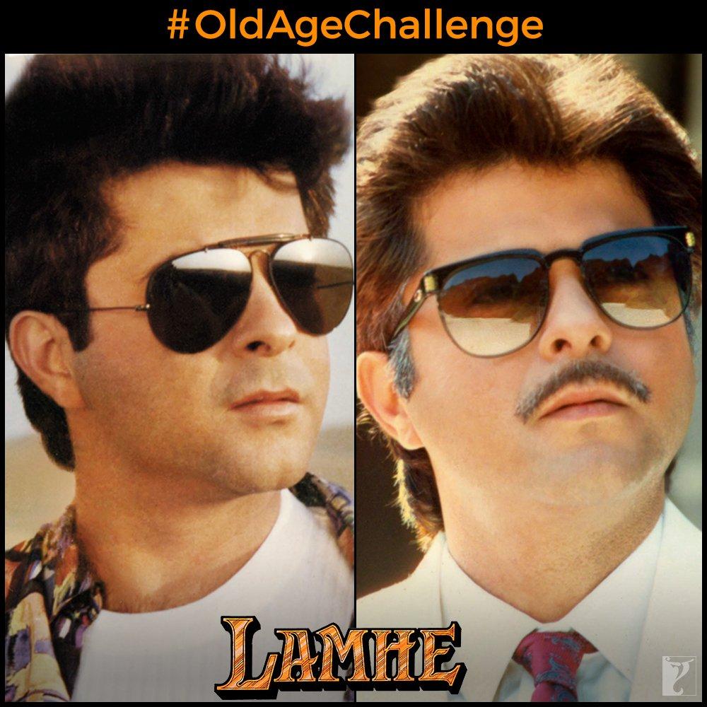 What old age? #OldAgeChallenge | @AnilKapoor | #Lamhe Tweet