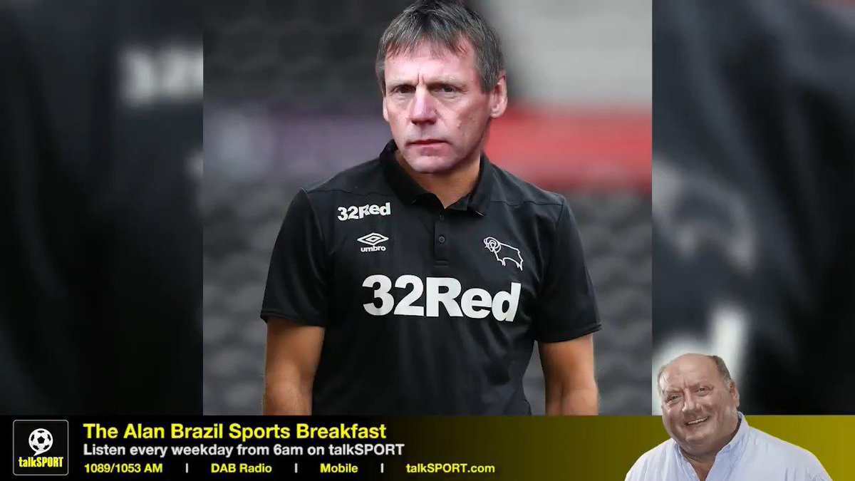 """Brazil: """"Would you consider a job at Derby County?"""" 🐑 Pearce: """"Absolutely not!"""" ❌ Brazil: """"Do you think loyalty in football is out the window now?"""" 🤔 Pearce: """"Not in my world..."""" 🙌 We asked Stuart Pearce about loyalty in modern football. #NFFC fans will LOVE this 😍"""