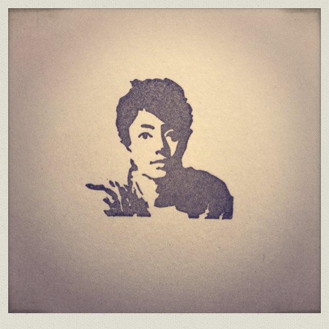伊藤健太郎さんを彫りました。 #消しゴムはんこ #伊藤健太郎