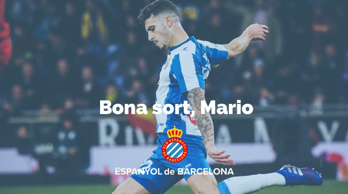 El Espanyol despide a Mario Hermoso.