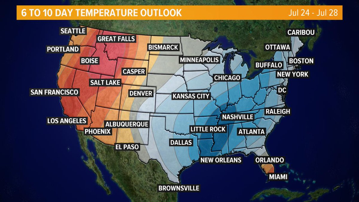 Good news: Once we get past this weekend's HIGH HEAT, the rest of the month should be a piece of cake!   #WUSA9Weather #GetUpDC <br>http://pic.twitter.com/NMtA145PoH
