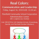 Image for the Tweet beginning: Our popular Real Colors session