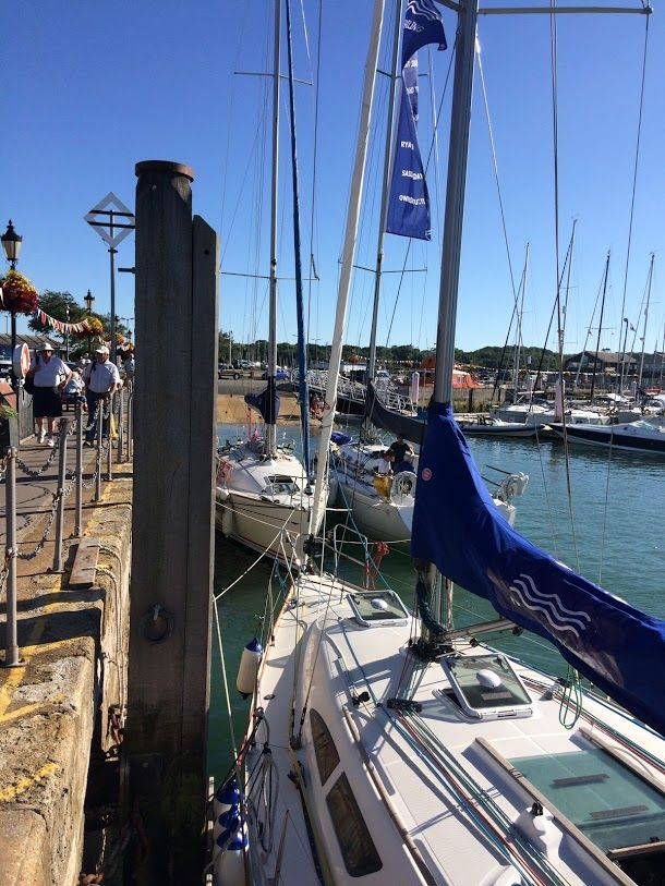 Lovely shot of Nomad , Yarmouth 2016.  please share you photos of your trips with us , we'd love to see them !   #throwbackthursday #nomad #yarmouth  #lovesailing #instasail