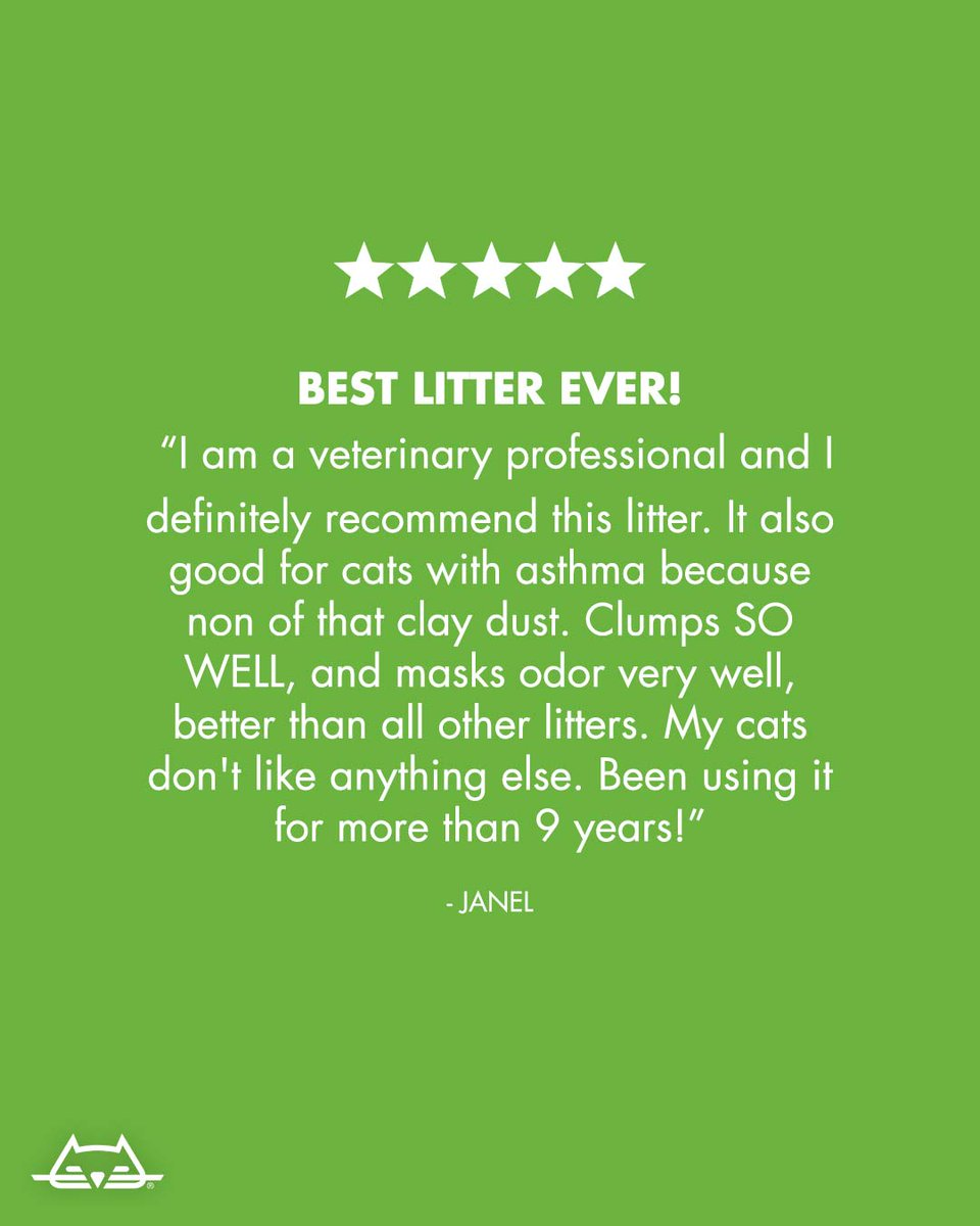 When in doubt, turn to a litter that keeps it simple: naturally great clumping and odor control without any added scents or extra ingredients. Learn more at: worldsbestcatlitter.com/clumping-cat-l…