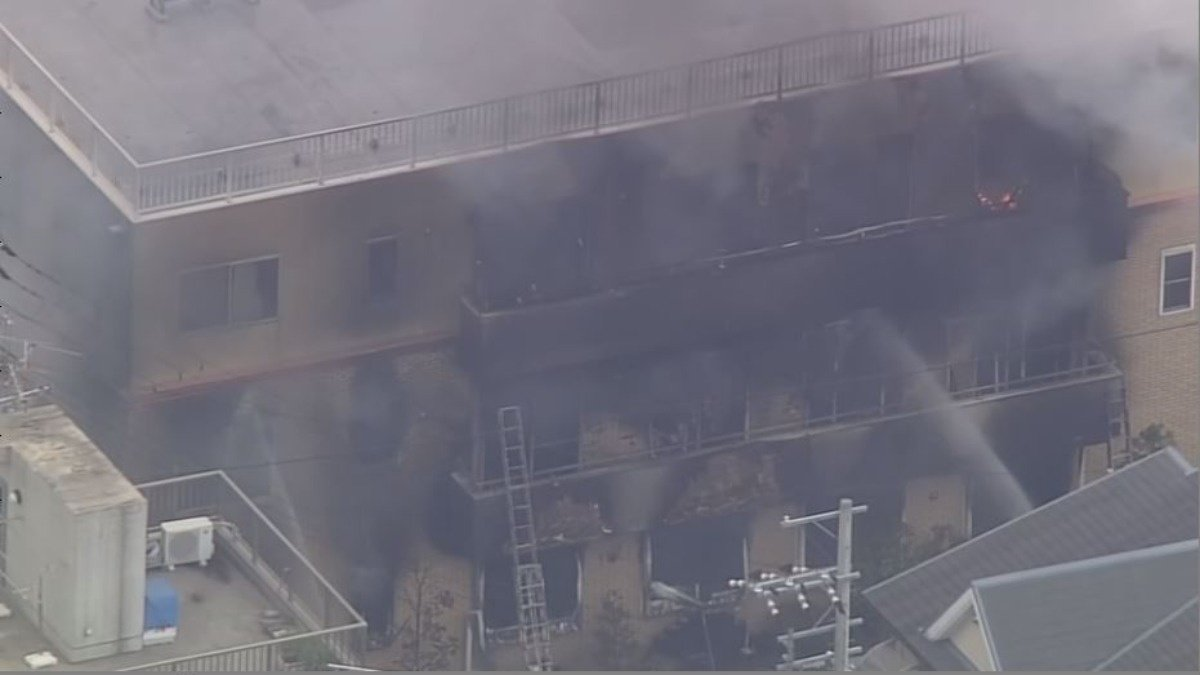 At least 27 feared dead in Japanese studio fire https://reut.rs/32BVDAD