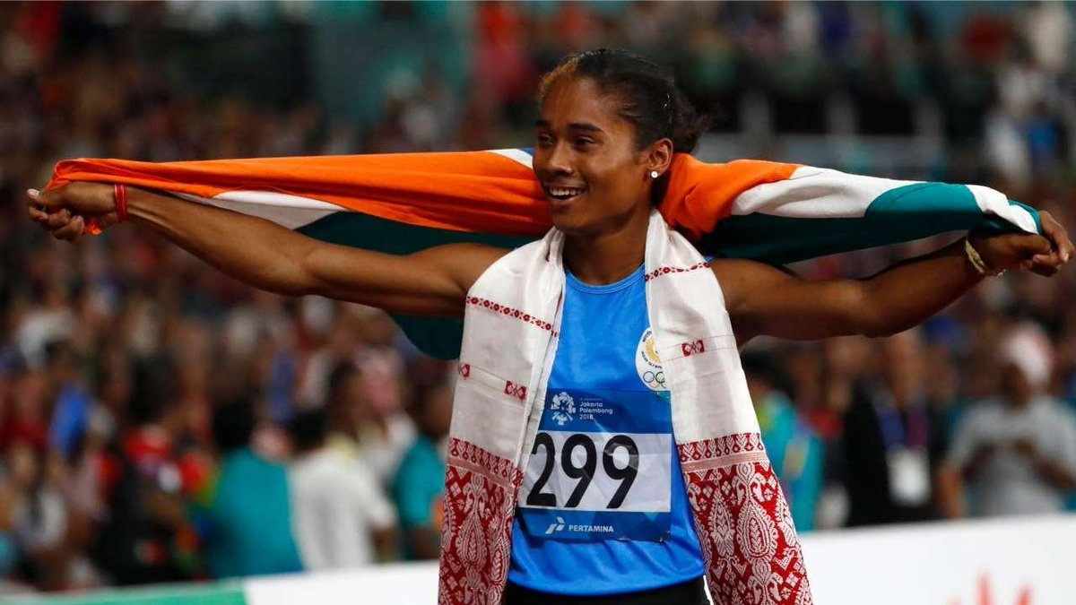 Our Golden Girl is simply unstoppable    in 15 days for #HimaDas. An inspiration for every Indian  , we're all rooting for you . You're limitless. A shining light for Assam in their time of darkness. Have fun, stay relaxed and keep doing what you're doing. <br>http://pic.twitter.com/NHnQdCitxp
