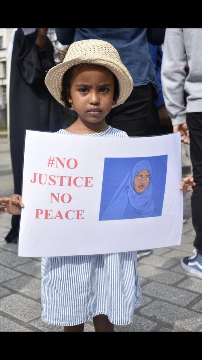 Justice. We wont be silenced.   #justiceforshukriabdi