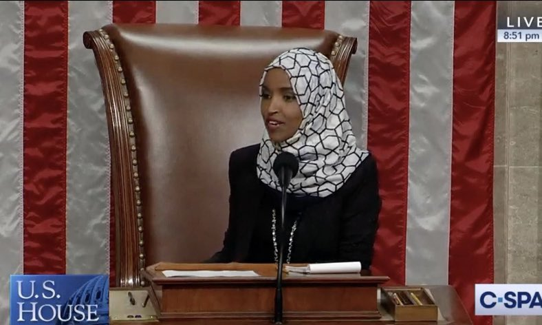 Dear, America   She doesn't have to go back to where she came from because this is her  home! She is American! She isn't go anywhere!  #IStandWithIlhan