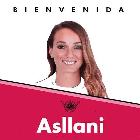 🙌 ¡@KosovareAsllani es nueva jugadora del @CD_TACON! #BienvenidaAsllani | #GoTACON