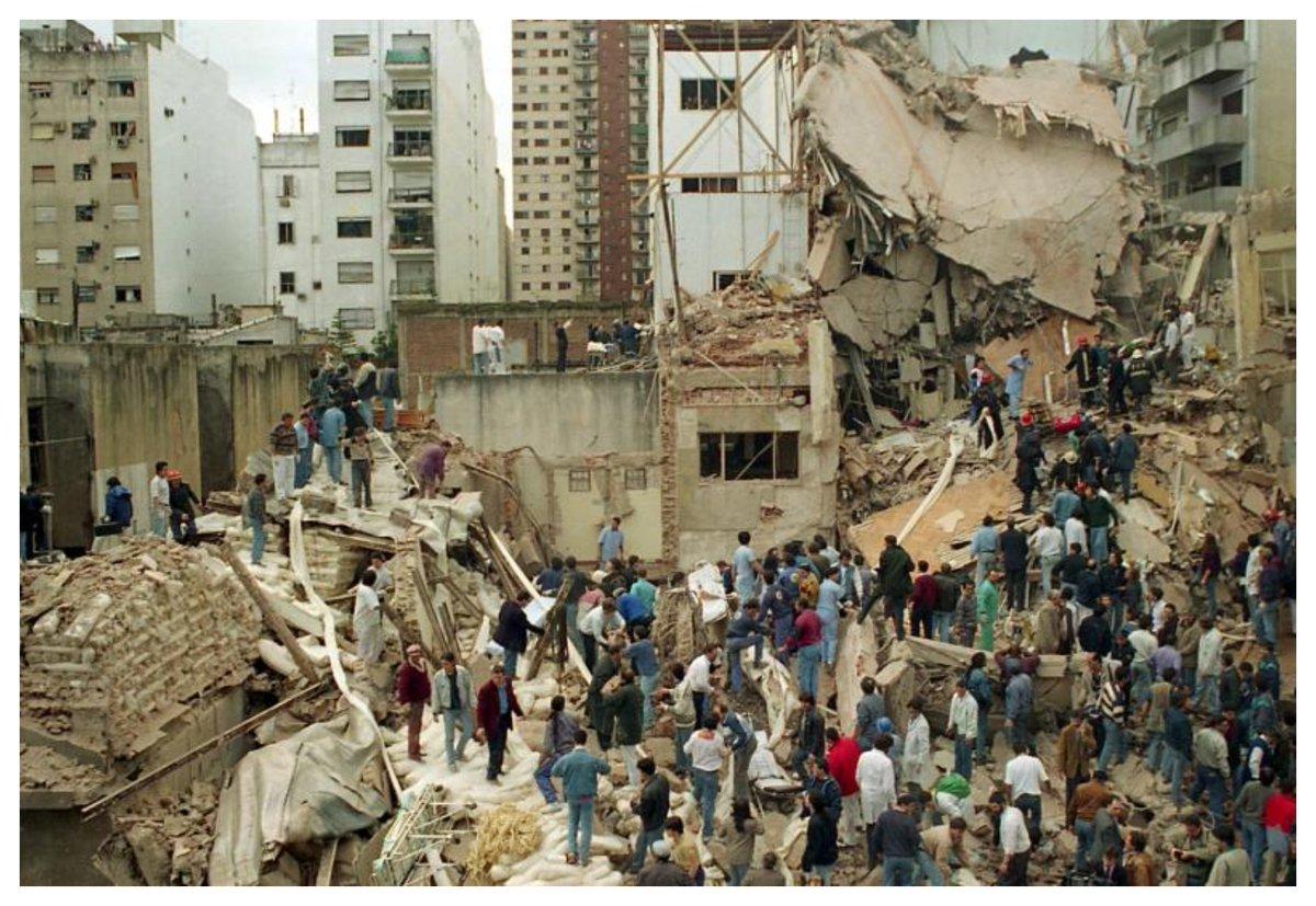 Se conmemoran los 25 años del atentado a la AMIA  https://www.elobservadordelsur.com/se-conmemoran-los-25-anos-del-atentado-la-amia-n14479…