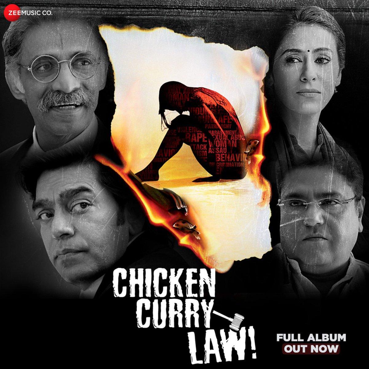 Presenting the #FullAlbum of #ChickenCurryLaw!   @ranaashutosh10 #AshutoshRana @nivedita_be @makaranddeshpa6 #ZakirHussain @AmanYatanVerma @nataliajanoszek #ShekarSirrinn #JagpreetBajwa @PanoramaMovies   http://youtu.be/m_GSwILvNFY