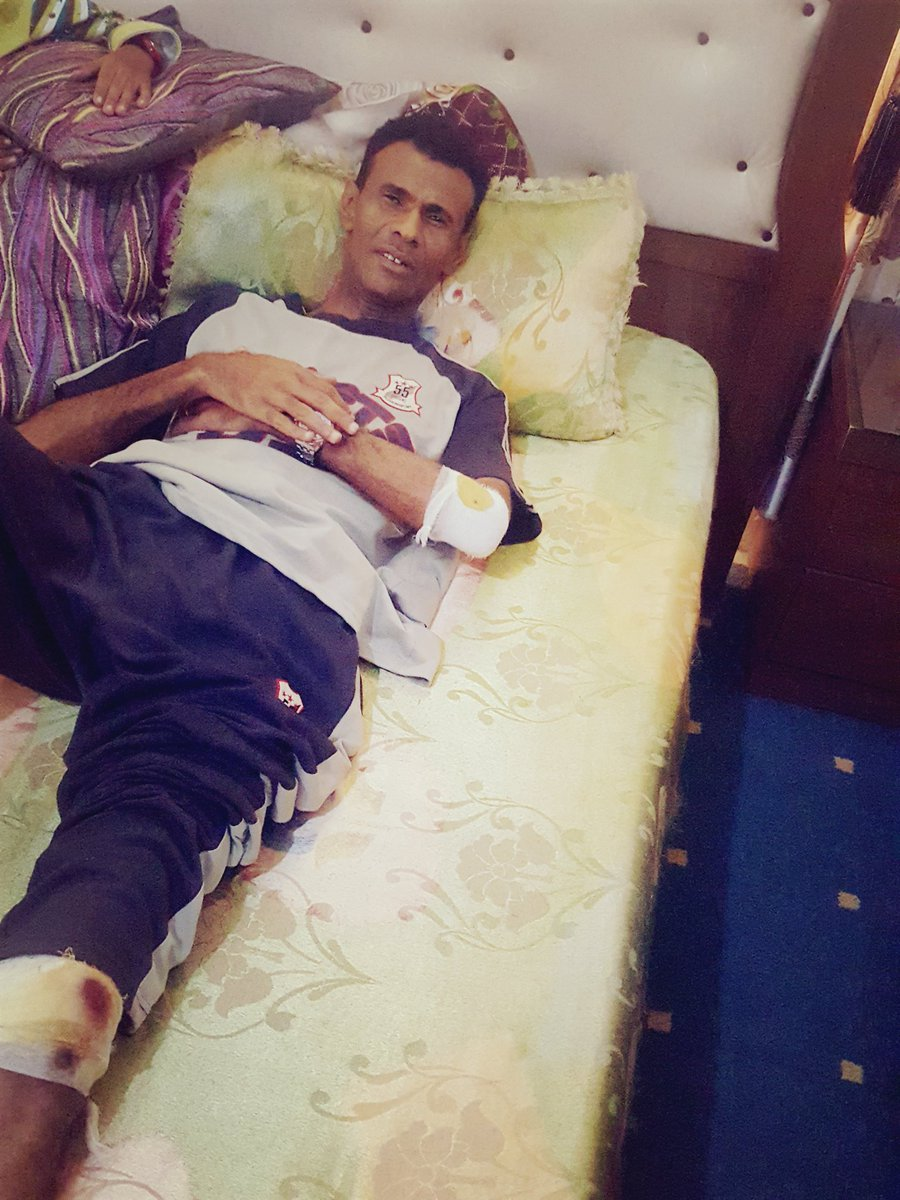 Please my friends, followers, backers and supporters pray for me.. I'm very tired and sick after being hit today early morning by a motorcycle in the capital Sana'a. #Yemen  Your prayers will help me.. Fatik. <br>http://pic.twitter.com/M5vwOo7pLW