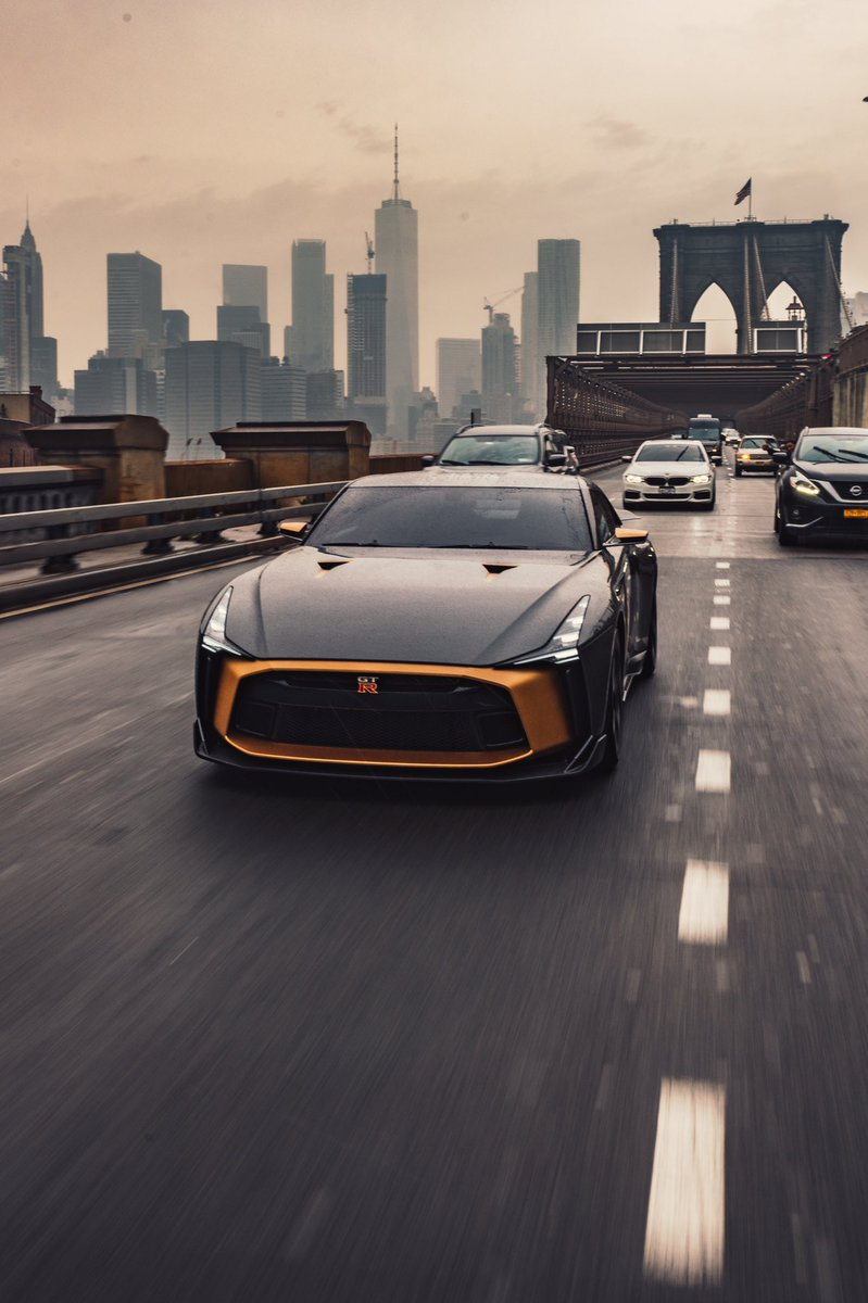 We knew you and the #GTR50 would be a perfect match, @tomwookieford.