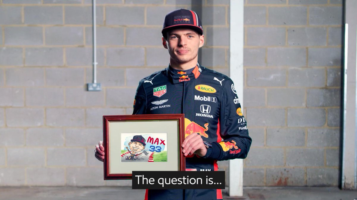 Seriously guys? 😂 Can Max's favourite picture handle the friction? 🤓 @Mobil1 #TestedToTheMax