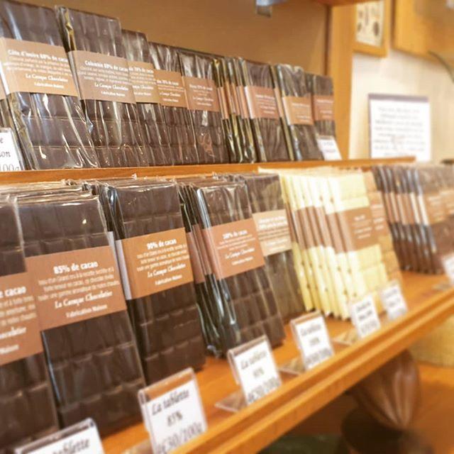 Ce matin l'équipe Alveoo Webagency était en visite à la chocolaterie @la_caraque_chocolatier !  Nous on a craqué !... 🍫🍫😋   #conseil #digitalagency #webagency #chocolat #chocolaterie #cacao #alveoo