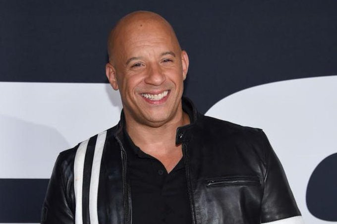 Happy birthday to Vin Diesel!