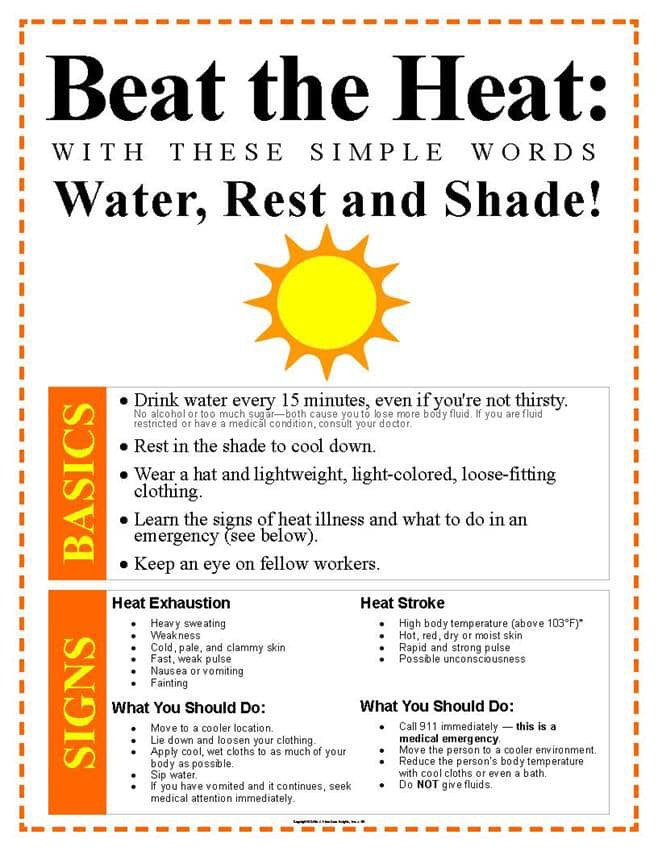 Forecasts are calling for excessive heat throughout Illinois today through Sunday.  Take…