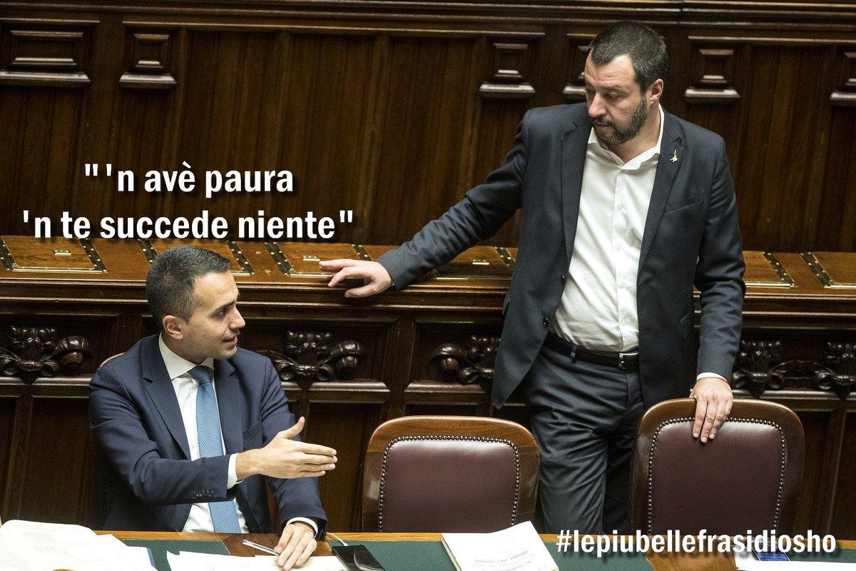 è ora de vincela sta paura dell'aula #Salvini #Russiagate