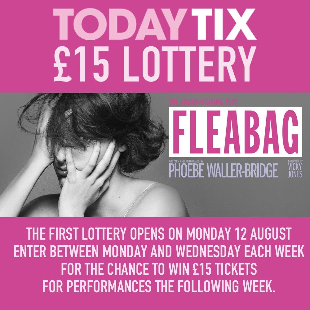 You can still bag tickets to see Fleabag in the West End for as little as £10
