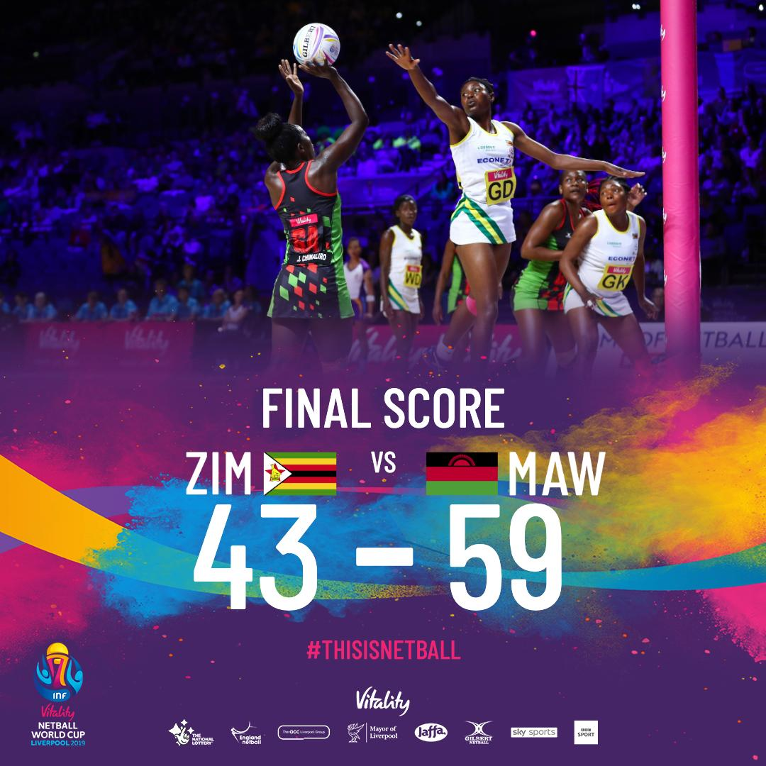 Our fellow Africans take the win. But, look at what our girls have done. #Incredible #YEAH  #WomenSports #Sport #Netball #GoGemsGo #ZimGems #Zimbabwe