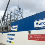 Work is progressing well on the new Sands hotel on Blackpool front @WardenConstruct #Blackpool #hotel