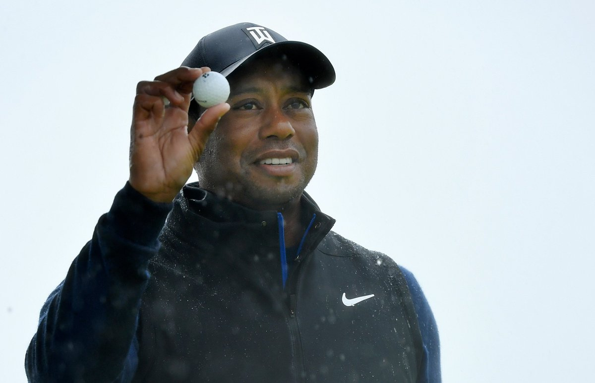 Image for the Tweet beginning: It's Tiger Time 🐅⌚️#TheOpen