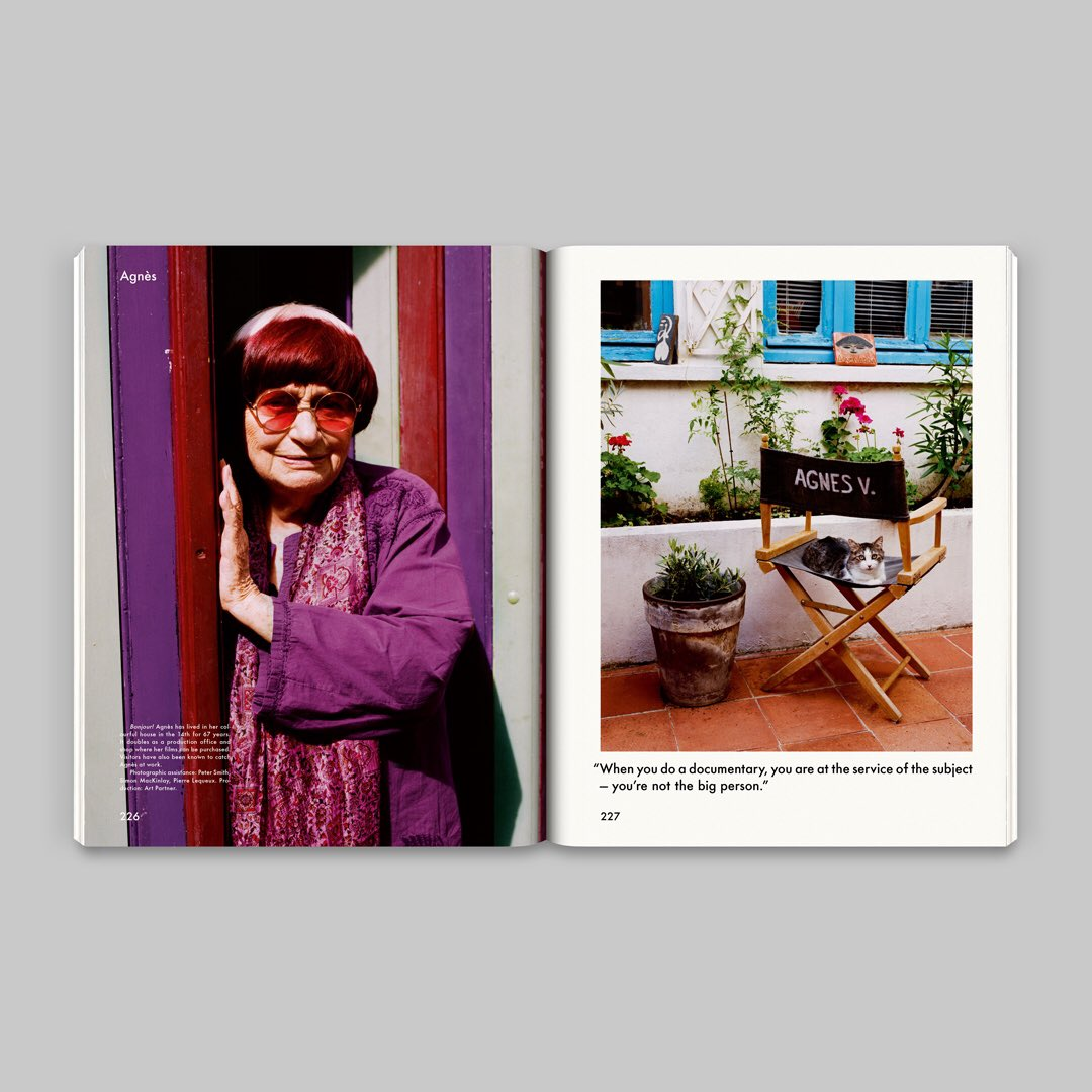 Varda par Agnès, the final film by #AgnèsVarda is out tomorrow.  Enjoy @HollyBrubach's profile of the the visionary French filmmaker, from issue n° 18, at  http:// thegentlewoman.com/library    . #TGW18<br>http://pic.twitter.com/hDNaUwX2k0