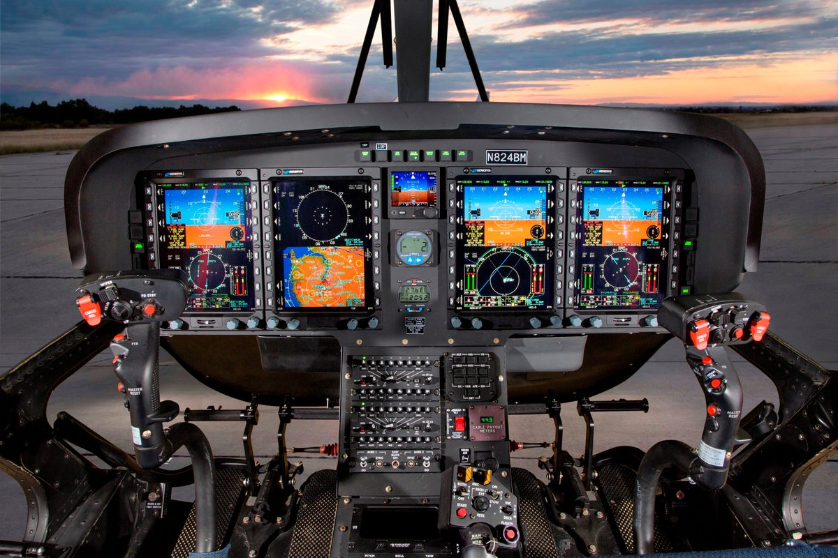 .@LDO_Helicopters has obtained FAA #IFR certification for its single-engine #TH119 with @GenesysAero avionics: bit.ly/2NZv7Ov
