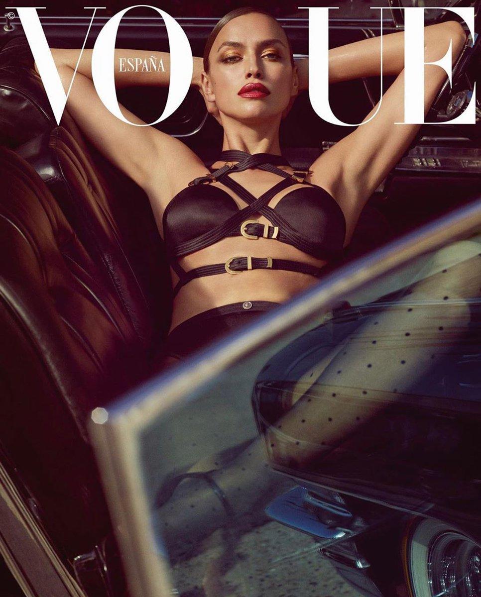 Ирина Шейк для испанского Vogue