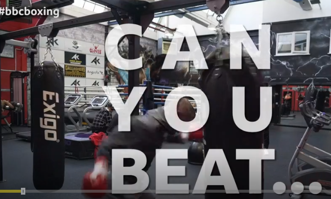 A new challenge for BBC Sport readers. You need a heavy bag, a stop watch, 12 seconds and fast hands. Can you punch quicker than the pros?https://www.bbc.co.uk/sport/av/boxing/49023463…#bbcboxing #boxing