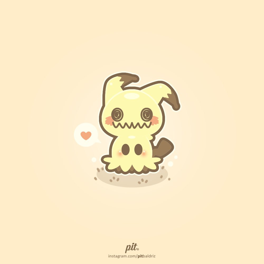 I did this cute #Mimikyu in #vectorart. Do you like this #Pokemon?<br>http://pic.twitter.com/9ULeOJtlR9