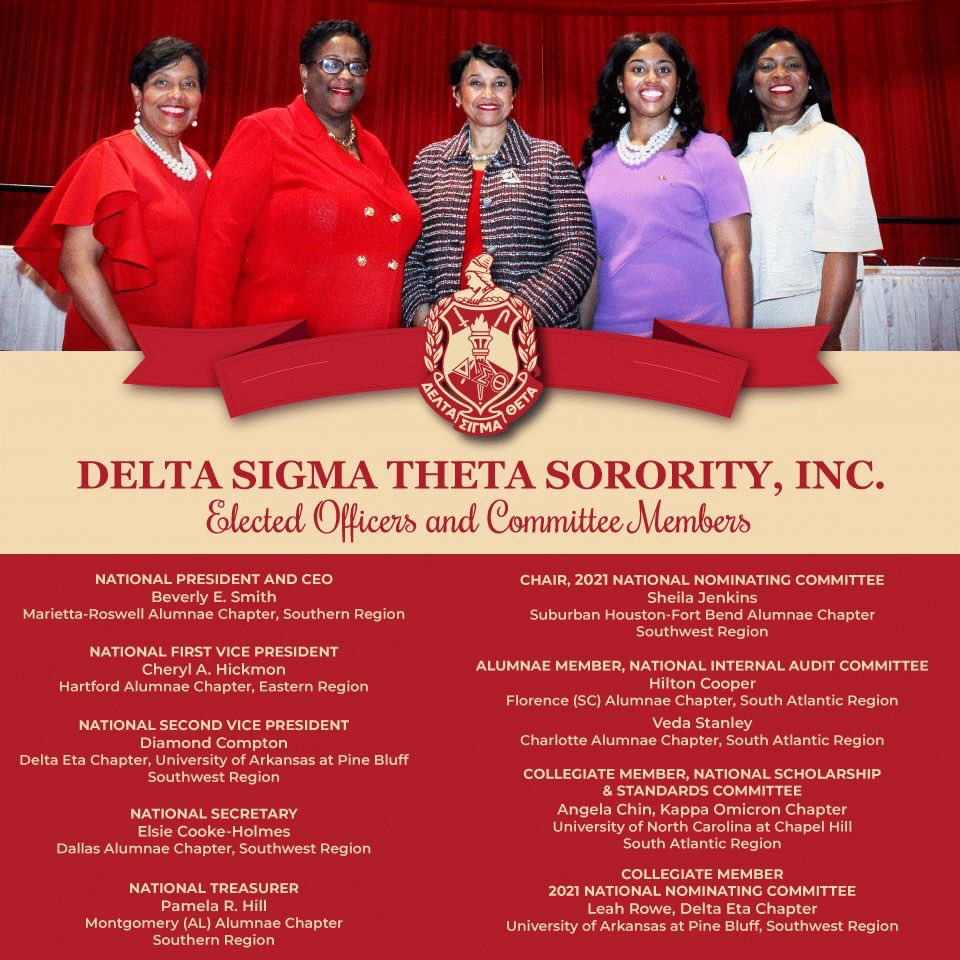 Now that Tropical Storm Barry is behind us, it's time to look toward a promising and dry future.  Congrats to the re-elected and newly elected officers and committee members of our beloved Sorority! #JoyInOurSisterhood #PowerInOurVoice #ServiceInOurHeart #DST1913<br>http://pic.twitter.com/685X2WkePn