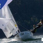 Image for the Tweet beginning: Well done to @USSailingTeam's Madeline