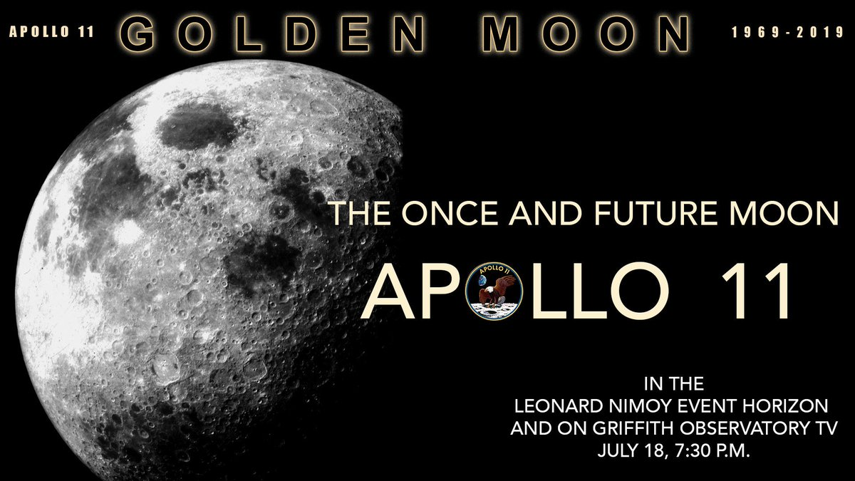 Is there a place for the Moon in our future? Why did we stop going? Tonight at 7:30 pm, ASCs @AnthonyjCook2 and a guest panel explore the dream of going to the Moon, its fulfillment, its abandonment, and the recommitment to return to the Moon. #Apollo50th #Apollo50