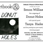 """Image for the Tweet beginning: Signed copies of """"Donut Holes'"""