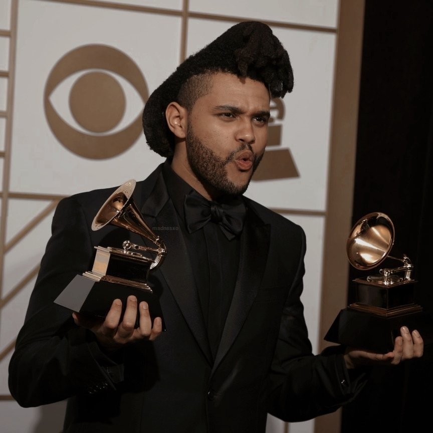 The Weeknd at the Grammys, 2016. <br>http://pic.twitter.com/g4j1bCoIOo